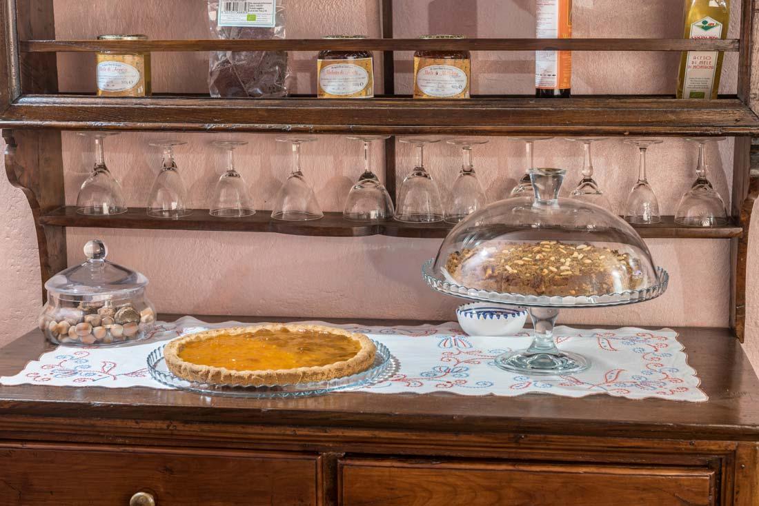 Cucina ed enoteca sul lago di Como