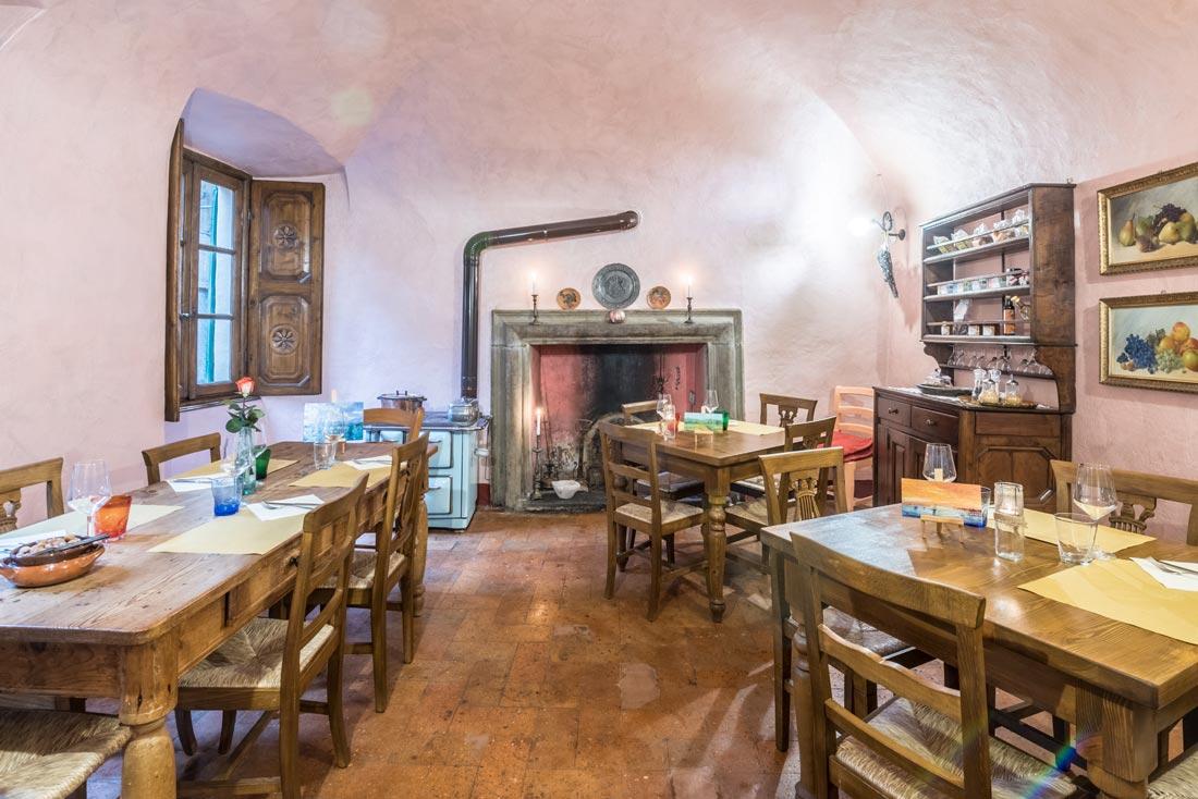 Locanda con cucina a Gravedona sula Lago di Como