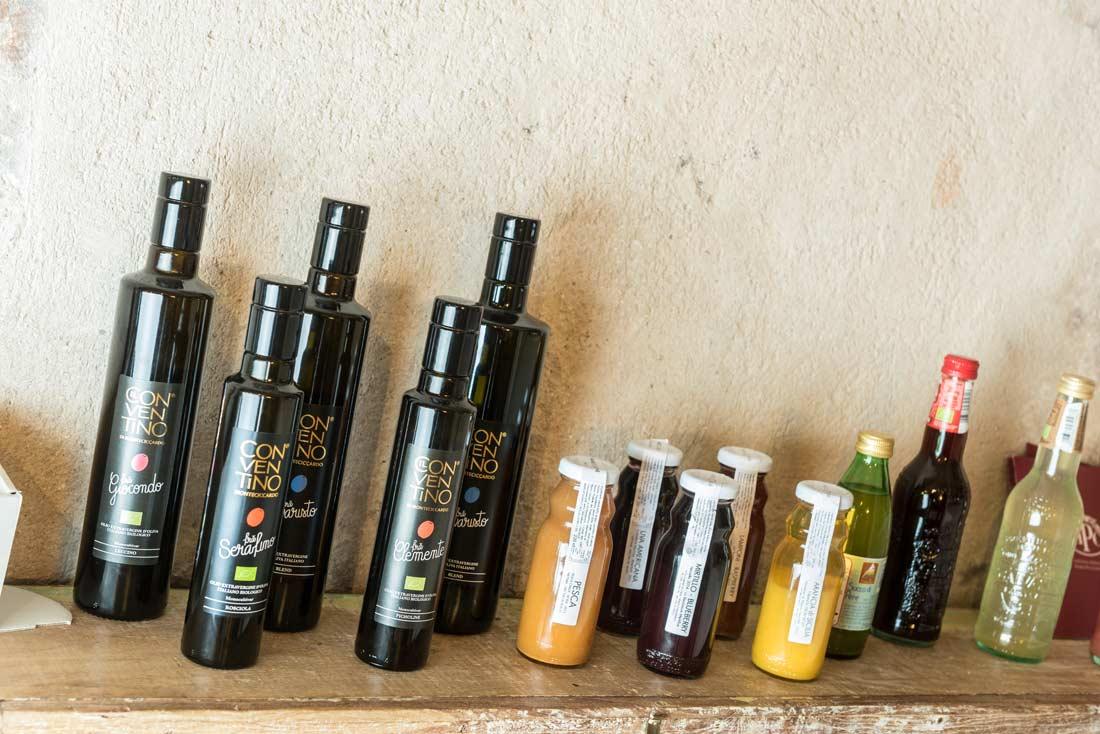 Olio extravergine di oliva biologico a Bellagio