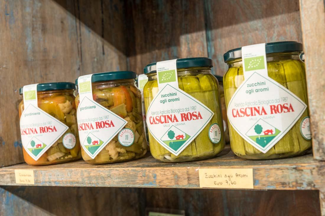 Prodotti biologici sul lago di Como