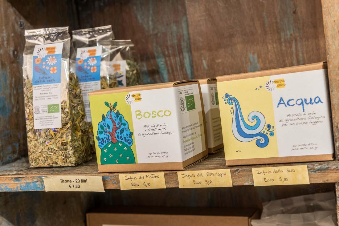 Prodotti biologici e Vegani sul lago di Como